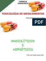 Toxicologia de Medicamentos - Psicotrópicos