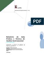 UFPE_RELATÓRIO Preparação e Leitura de Padrões de Potássio e Amostras No Fotômetro de Chama