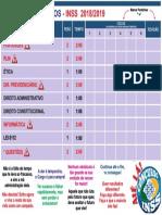 Ciclo de Estudos - InSS 2019