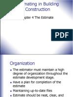 CCEC Lec04 Estimate Ch. 4
