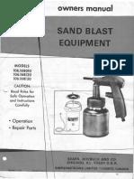 Sears Sand Blast Equipment_106.168xxx_Owners Manual - Nov 1974