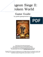 Dungeon Siege II Broken World PC (In English)