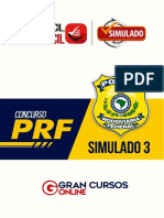 Simulado PRF 3 - Com Gabarito