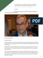 23-01-2019 -Empleos en Sonora sufrieron una disminución en 2018 - elsoldehermosillo.com.mx