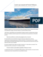 16-01-2019 Anuncia ruta de crucero que zarpará de Puerto Peñasco - Telemundo Arizona