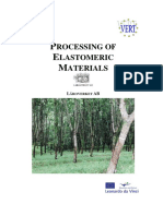 Processing of Elastomeric Materials
