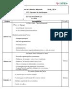 Planificação Anual CN CEF