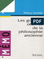 GONTIER, Thierry - Les grandes oeuvres de la philosophie ancienne.pdf
