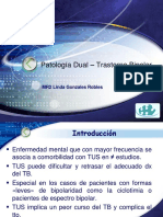 10. Patología Dual - Trastorno Bipolar