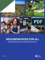 Neighborhoods for All