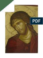 Iisus Hristos - Icoana de la M-rea Diaconești