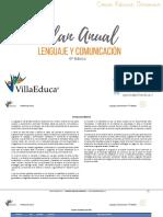 Planificacion Anual - Lenguaje y Comunicacion - 6basico