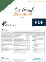 Planificacion Anual - LENGUA Y LITERATURA - 7Basico.pdf