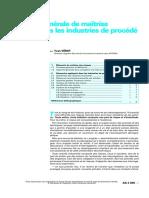 AG 4 605 - Démarche générale de maîtrise du risque dans les industries de procédé.PDF