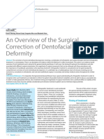 An Overview of the Surgical Correction of Dentofacial Deformity