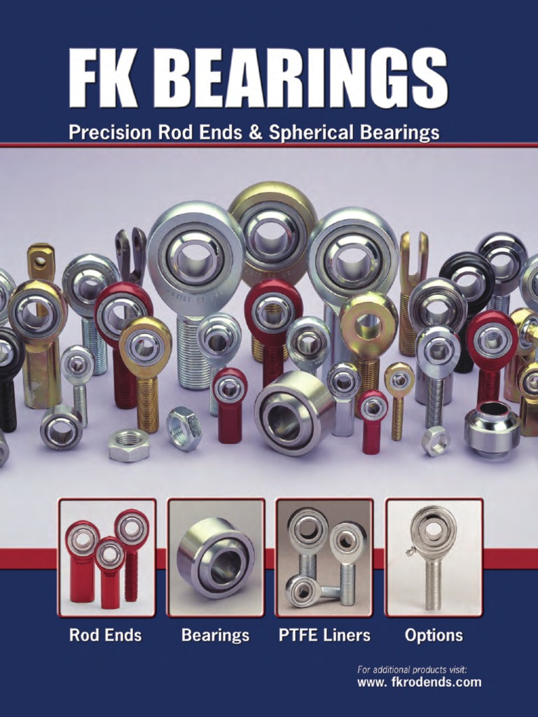 FK Bearing 2004L Weldable Tube End 1.0 x .065 x 3//8-24 Left Hand Thread