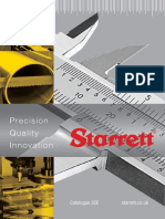 Starrett Catalogue 32Ε