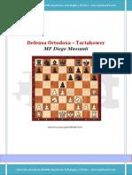65 Defensa Ortodoxa – Variante Tartakower
