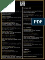 slate menu