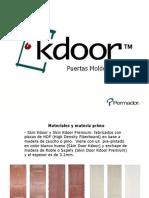 Puertas HDF