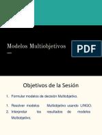 01 Modelo Multiobjetivo