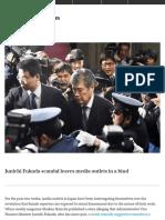 Junichi Fukuda scandal