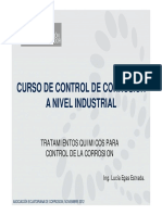 Control de corrosión