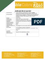 Reviflex Rv-k 0,6 1kv