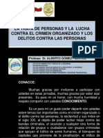 +++1.- TRATA DE PERSONAS  DR. ALBERTO GOMEZ FUERTES