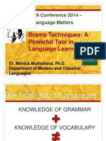 Drama Techniques Help in Teaching Grammar