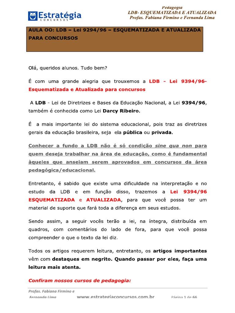 ldb 9394/96 para