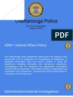 Chattanooga PD City Council PPoint 01/29/19