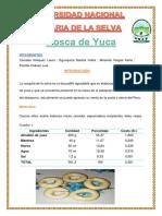 Rosquita de Yuca