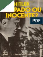 Hitler Culpado Ou Inocente - Oliveira Sérgio