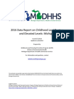 MDHSS Childhood Lead Poisoning Prevention Annual Report 2016