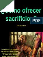 Como Ofrecer Sacrificios