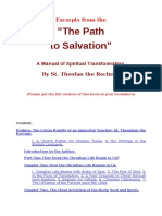 Excerpts from Path to salvation