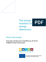 REScoop Energy Transition to Energy Democracy - English