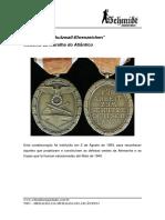 T007 - Medalha Da Muralha Do Atlântico
