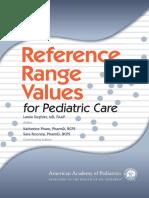 Reference Range Value