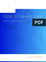 Tripwire Fisma Si7 Buyers Guide