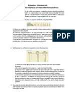 Ejercicios Complemetarios Empresas en Mercados Competitivos