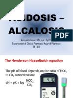7. Acidosis