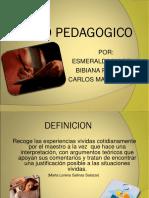 Diario Pedagopgico