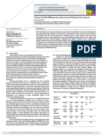 Phytoremediation Potential of Palm Oil Mill Effluent by Constructed Wetland Treatment
