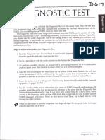 1. Diagnostic TOEFL Test