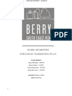 MARK395 Strategic marketing report