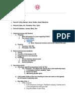 f weekly teacher meeting agenda items