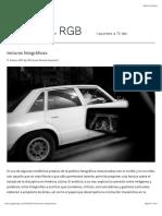 lecturas fotográficas – jpg en RGB