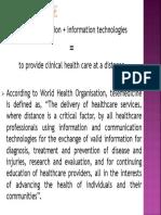 Telemedicine Introduction